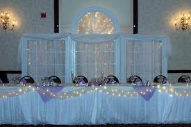 diy wedding reception lighting. Wedding Reception Decoration Idea Photo: String Lights Used In This Simple Design Give These Diy Lighting W