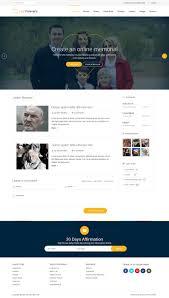 Memorial Website Design Entry 19 By Syrwebdevelopmen For Online Memorial Website