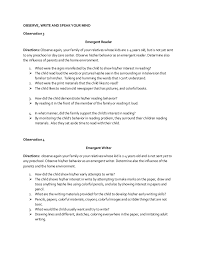 Family Influence On Child Development Essay Good Parents