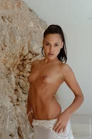 Apolonia Lapiedra Posing Naked in Heels