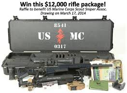 Marine Corps Scout Sniper Surgeon Rifle Raffle For Usmc Scout Sniper Assoc
