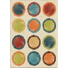 orian rugs sugar plum ivory indoor outdoor kids throw rug common 4 x