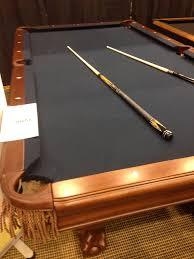 Crown Royal Pool Table Light Ben Pool Table With Dark Blue Or Black Felt Pool Table