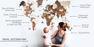 Wooden <b>World</b> Map 2.0 - <b>деревянная карта мира</b> - Crowdpublishing