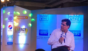 speaking at newsx sunday gaurdian energy conclave 2018