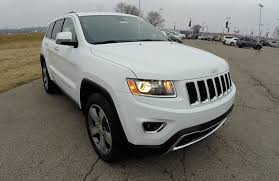 jeep 2015 white. Interesting White 2015 Jeep Grand Cherokee Limited White  New Jeeps Martinsville IN 17810   YouTube Throughout