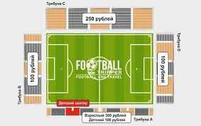 Ekaterinburg Arena Seating Chart Central Stadium Fc Ural Sverdlovsk Oblast Football Tripper