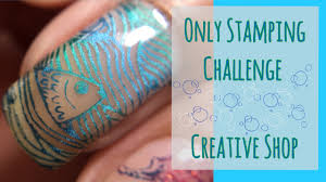 Super Simple and Easy || Only Stamping Challenge Nail Art ...