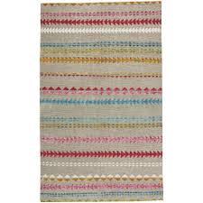 capel genevieve gorder scandinavian stripe multi 9 ft x 12 ft area rug