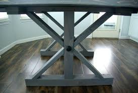 square husky farm table legs a farmhouse modernizing the traditional details farm table legs