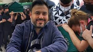 Alişan'ın kardeşi Selçuk Tektaş'ın cenaze töreninde eşi Merve Tektaş ayakta  güçlükle durabildi - YouTube
