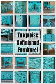 turquoise painted furniture ideas. turquoise refinished furniture painted ideas e