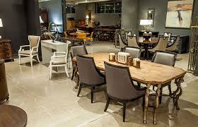 high end dining room furniture. high end furniture showroom dining room