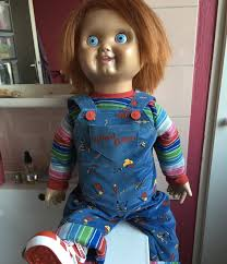 life size chucky doll real prop on ebay pride of chucky