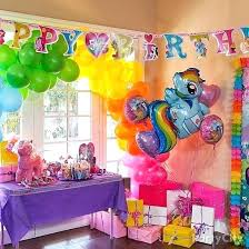 birthday ideas at home stylist decorations my little pony party homes for invitation diy