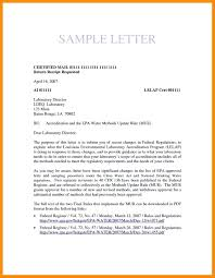 15 Format For Certified Letter Resume Package