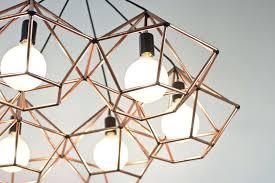 diamond pendant light rough diamond chandelier modern copper geometric pendant light for copper diamond diamond pendant light