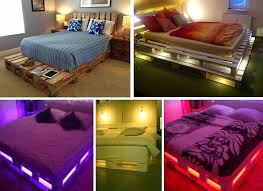 do it yourself bedroom furniture. fine bedroom diy glowing palette bed intended do it yourself bedroom furniture e