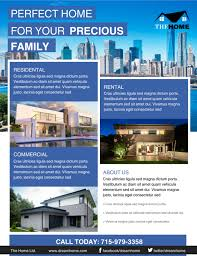 the best real estate flyer for all realty companies real estate flyer 27