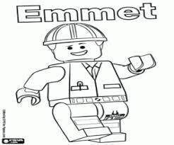 The Lego Movie Coloring Pages Printable Games