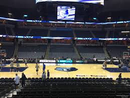 Fedex Forum Memphis Grizzlies Seating Chart Fedex Forum Section 114 Memphis Grizzlies Rateyourseats Com