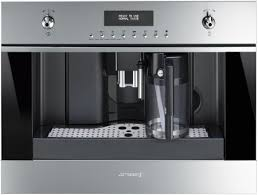 The Smeg is the second of my picks for built-in automatic coffee machines.