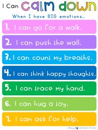 Teaching Social Skills Calm Down Strategies Whimsy