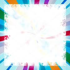 Rainbow Colorful Page Border Stock Photo Midosemsem 17631603