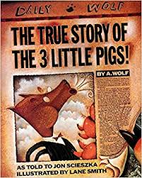 the true story of the three little pigs jon scieszka lane smith 8580001065663 amazon books