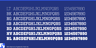 Free Sports Fonts Octin Sports Font 1001 Fonts