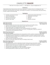 Retail Sales Resume Examples Car Salesperson Resume Foodcity Me