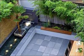 Small Picture Simple Garden Design With No Grass Palm Trees And To Inspiration