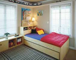 kids bedroom. Colorful Bed Linens And Imaginative Artwork Give This Soothing, Neutral Room A Jolt Of Excitement. Designer: Alla Kazovsky. Manufacturer: Kids\u0027 Studio. Kids Bedroom T