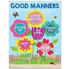Garden Of Good Manners Chart Creative Teaching Press