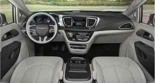 2018 chrysler pacifica interior. fine interior the cabin is as we expected on the car like 2018 chrysler pacifica  comfortable wide and functional dashboard has a big bulge in  on chrysler pacifica interior