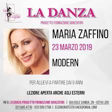 Stage Maria Zaffino (Modern) | La Danza Progetto Formazione Danzatori