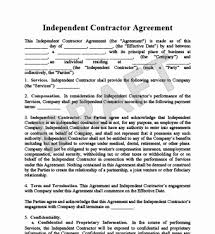 Independent Contractor Agreement Template Awesome Sample Independent Contractor Agreement South Africa Inspiring 44