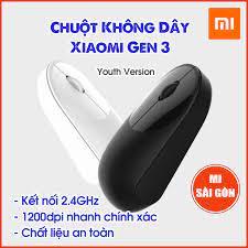 Chuột Không Dây Xiaomi Youth Edition - Chuột Xiaomi Gen 3
