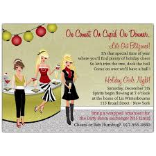 Photo Party Invitations Holiday With My Girls Christmas Party Invitations
