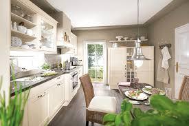 Küchenzeile Landhausstil Weiß