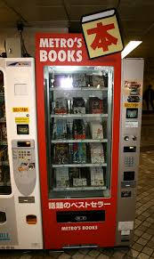 Book Vending Machine New There's A Vending Machine For That The Japan Guy
