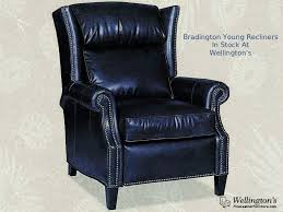 quick ship leather recliner chairs