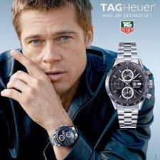 tag heuer carrera calibre 5 date men s watch of the week brad pitt proudly endorses tag heuer