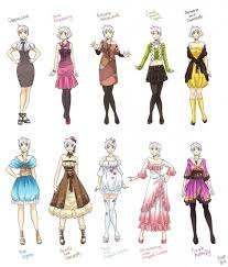 anime girl clothes designs. Plain Girl Cool Anime Girl Outfits Clothes Designs HD  Collections   Design In