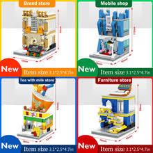 compatible furniture. Brilliant Compatible AOSST Mini Street View MOC Building Blocks Bricks 4pcsSet For Compatible Furniture