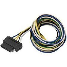 wesbar 5 way flat vehicle end wire harness 72\
