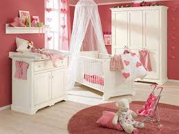 nursery with white furniture. image of charming white nursery furniture with pink color ideas