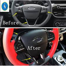 <b>Yimaautotrims</b> Auto Accessory Steering Wheel Gear Shift Frame ...