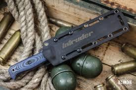 Kizlyar Supreme: <b>тактический нож Intruder</b> D2 Satin