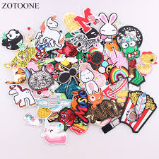 ZOTOONE 30pcs/lot Random Fashion <b>Patches</b> For Women <b>Lovely</b> ...